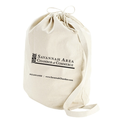 CANVAS DRAWSTRING BAG - MEDIUM